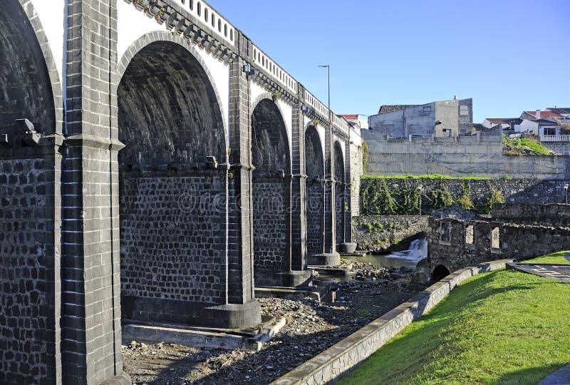 Stora Ribeira, Sao Miguel, Azores fotografering för bildbyråer