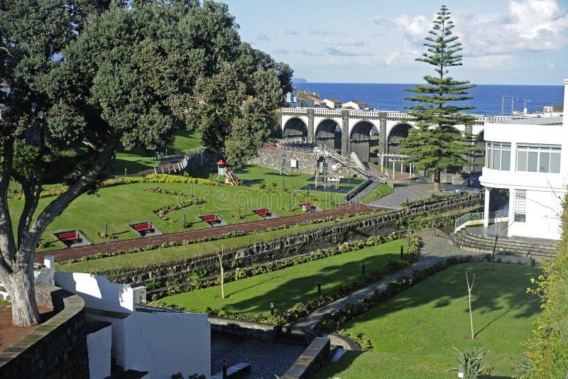 Stora Ribeira, Sao Miguel, Azores arkivfoto
