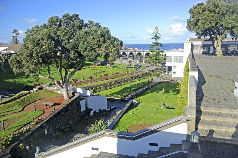 Stora Ribeira, Sao Miguel, Azores royaltyfri bild