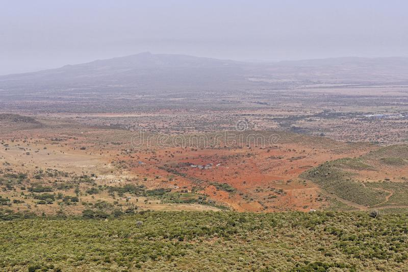 Stora Rift Valley royaltyfria foton