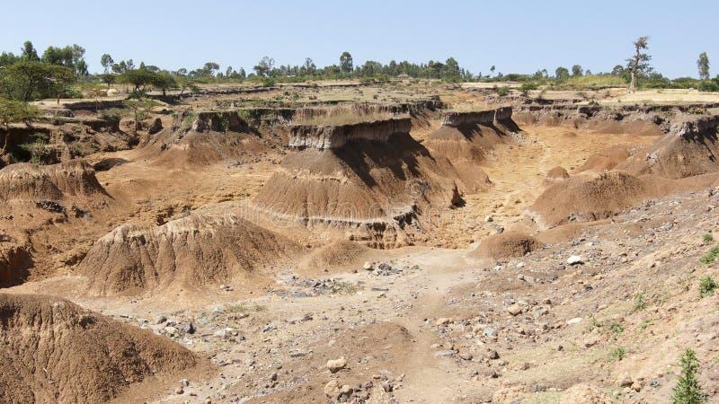 Stora Rift Valley, Etiopien, Afrika arkivbilder