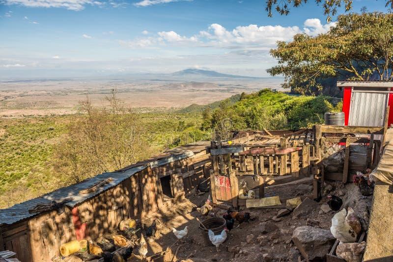 Stora Rift Valley, Kenya royaltyfria foton