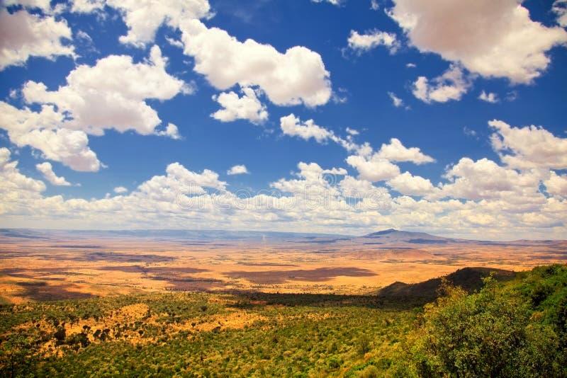 Stora Rift Valley, Kenya arkivbild