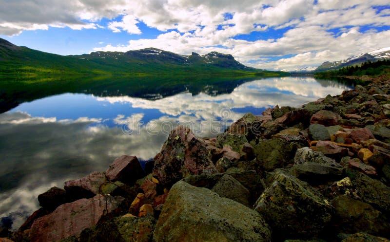 Stora sjofaletes national park royalty free stock images
