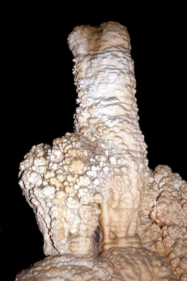 stora stalagmites royaltyfria foton