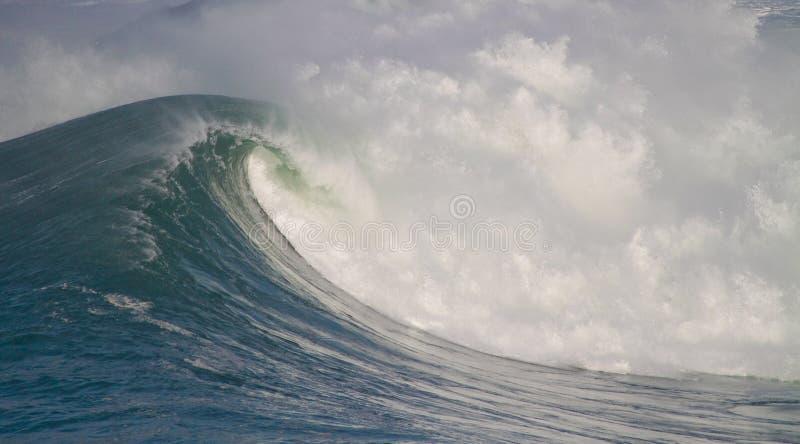 stora waves royaltyfria bilder