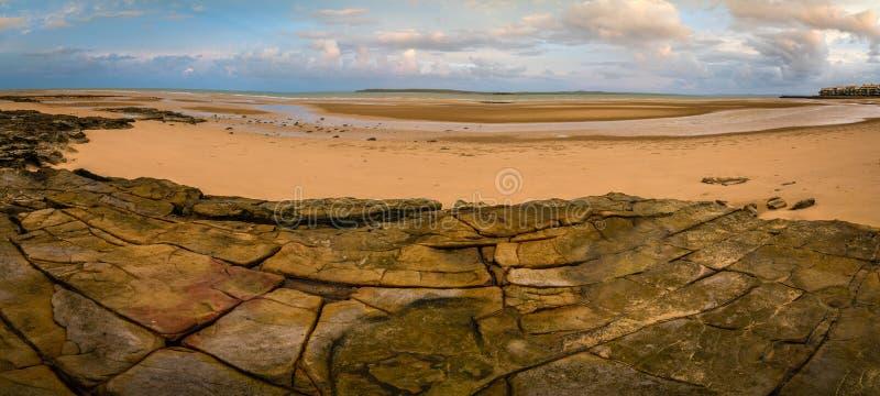 Stora Woody Island nästan Fraser Island i Queensland, Australien royaltyfri fotografi