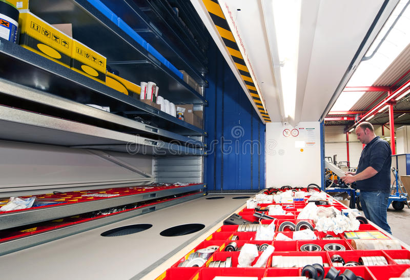 Storage Automation Stock Photography