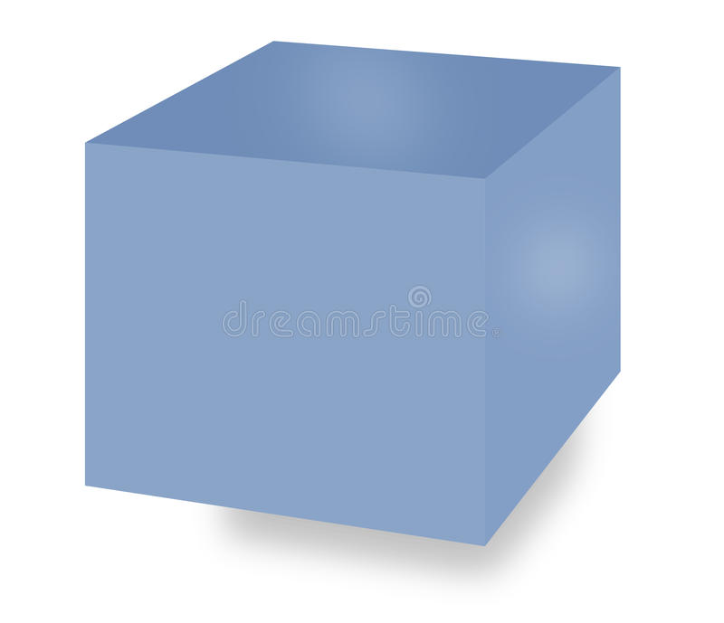 Download Storage box stock illustration. Image of packing, freight - 13113529