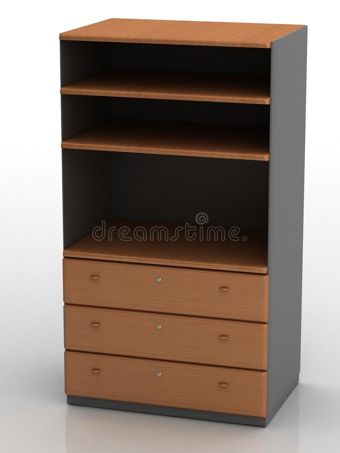 Storage Cabinet Royalty Free Stock Photography