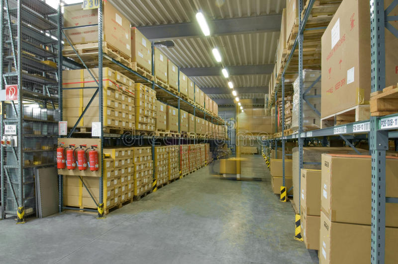 Storage Depot Royalty Free Stock Photo