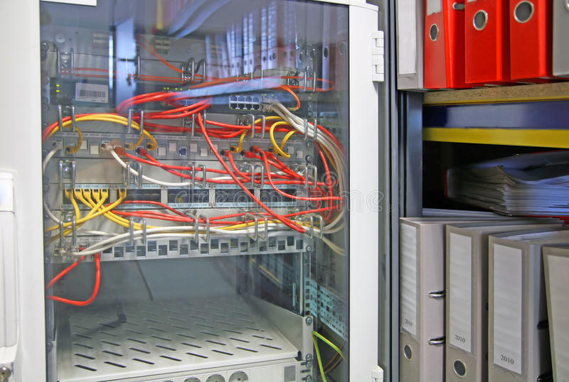 Download Storage room stock photo. Image of indoors, cable, connect - 20819926