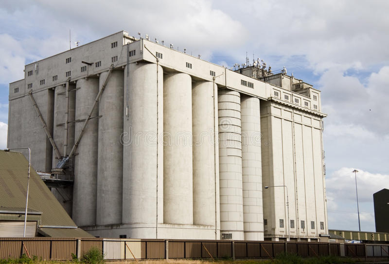 Download Storage silos stock photo. Image of containers, transportation - 16210548