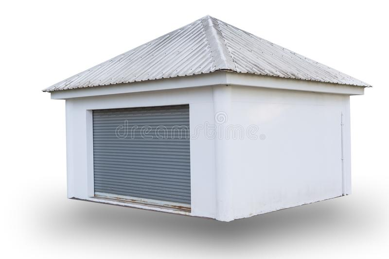 Storage space house for rent royalty free stock photo