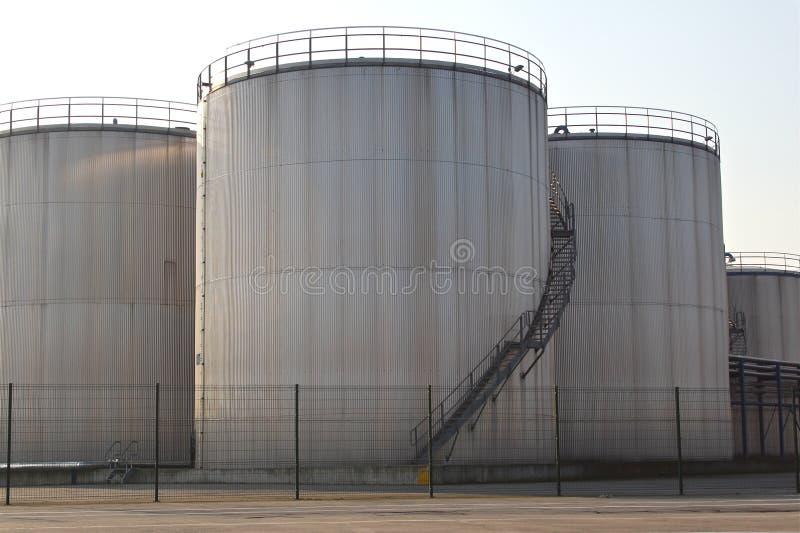 Download Storage tanks stock photo. Image of shipping, depot, metal - 23828958