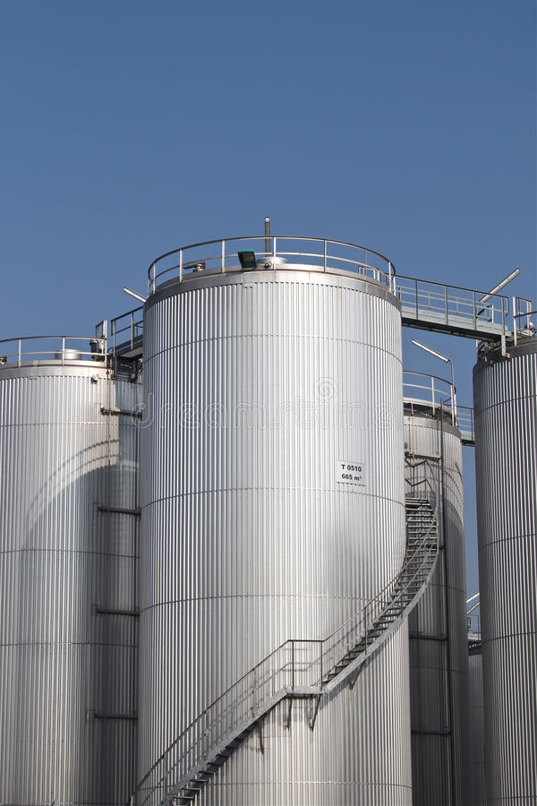Download Storage tanks stock photo. Image of money, business, cylindrical - 23949090