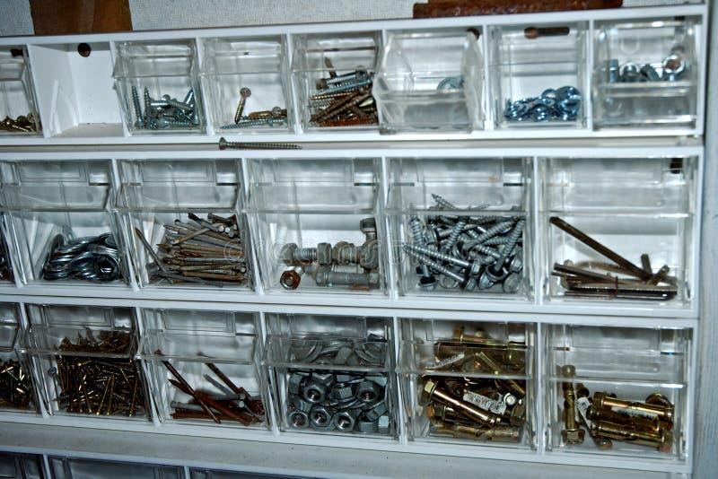 Storage unit stock image