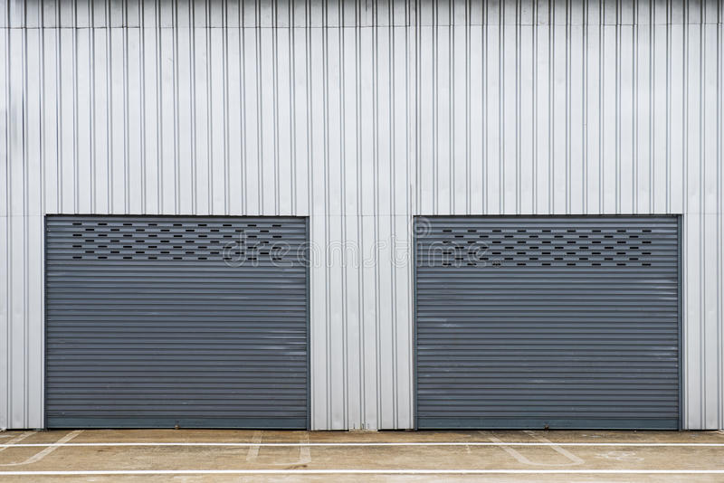 Storage unit stock image