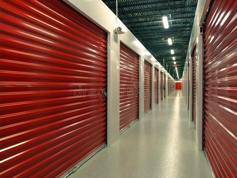 Storage Units royalty free stock image