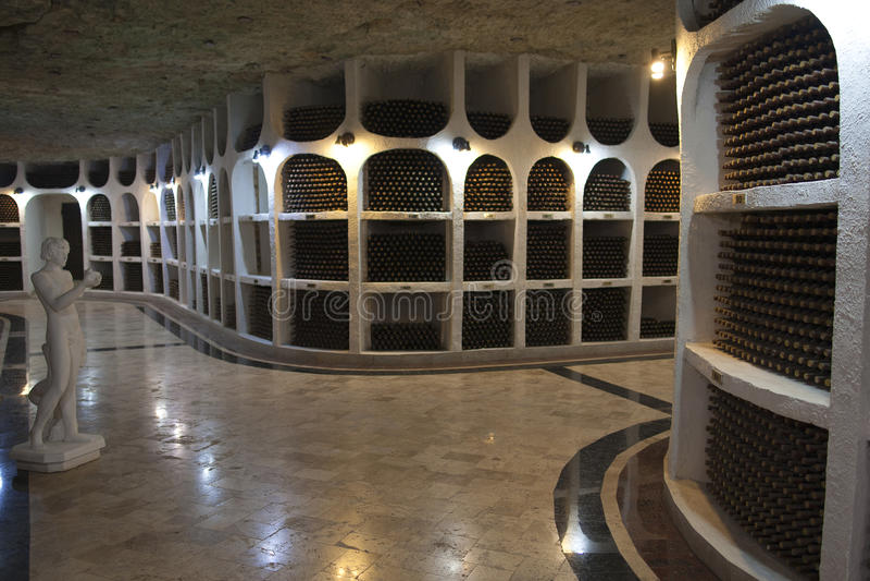 03 10 2015 Cricova Moldova Old Traditional Wine Cellar