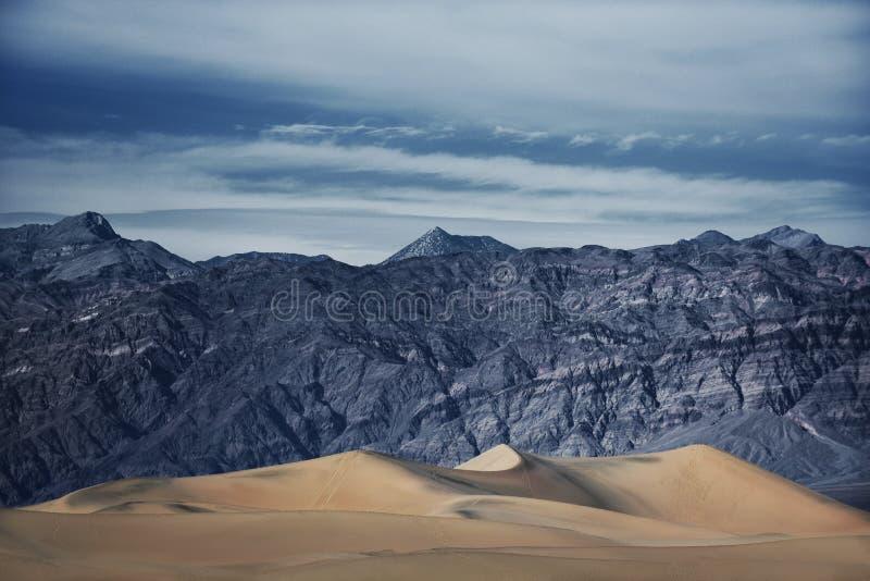Storartade Death Valley royaltyfria bilder