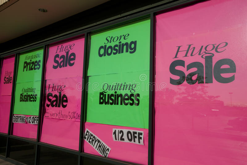 Download Store closing stock photo. Image of stimulus, retail, discount - 9615346
