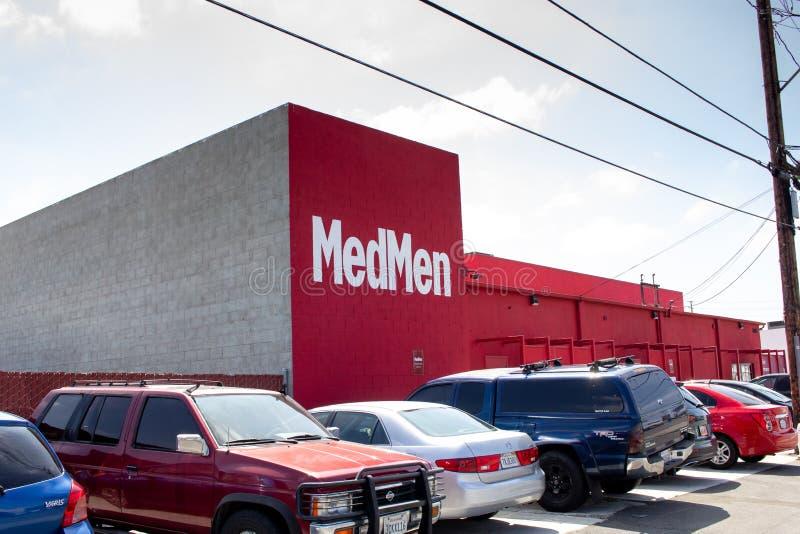 MedMen dispensary stock image