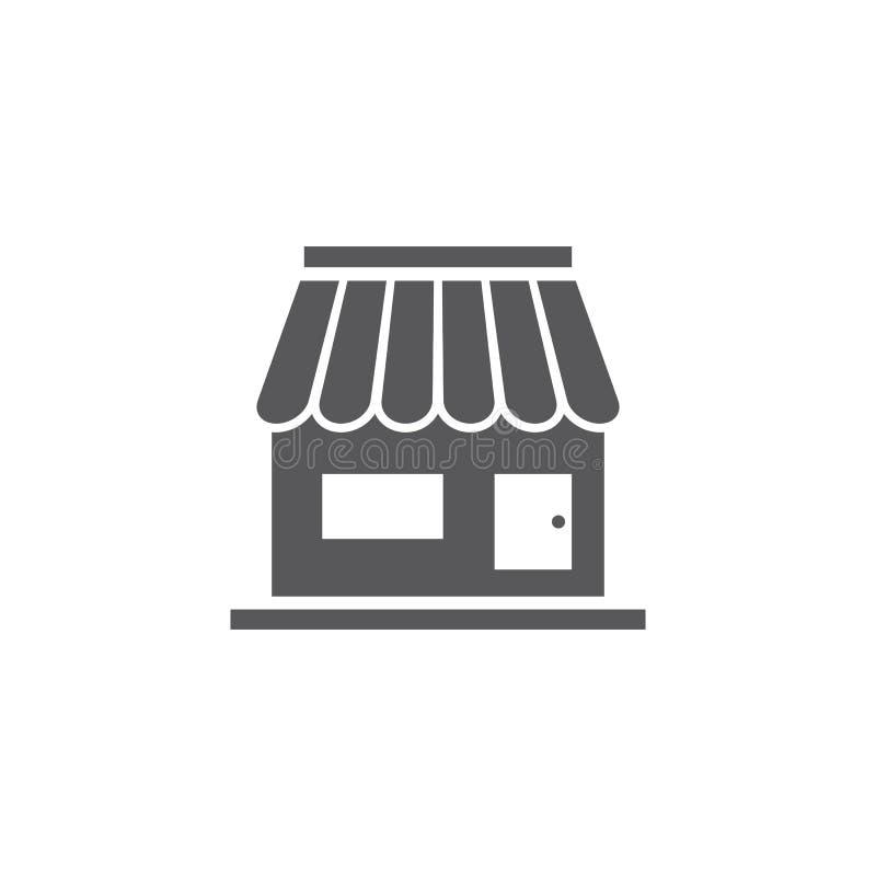 Store icon template vector illustration