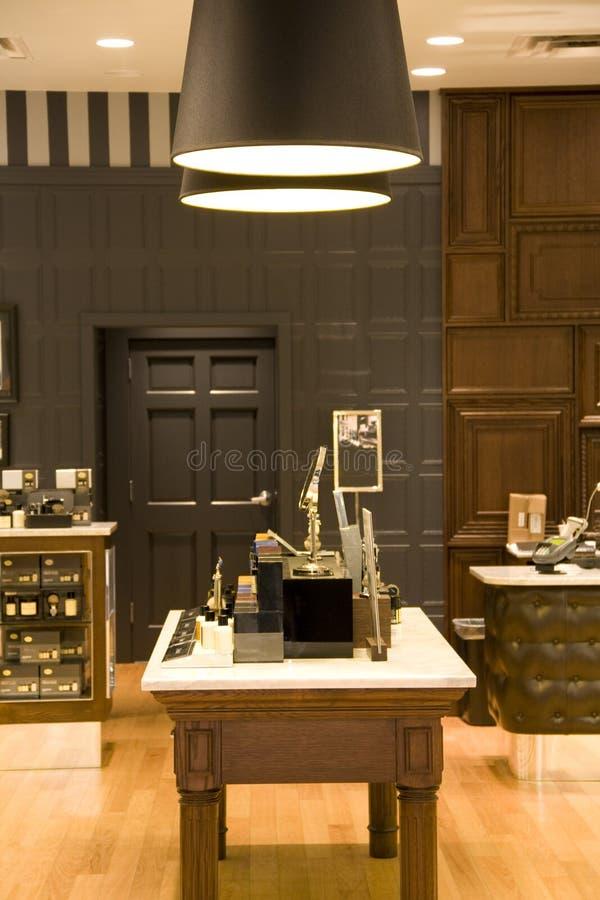 Store interiors lighting stock photography