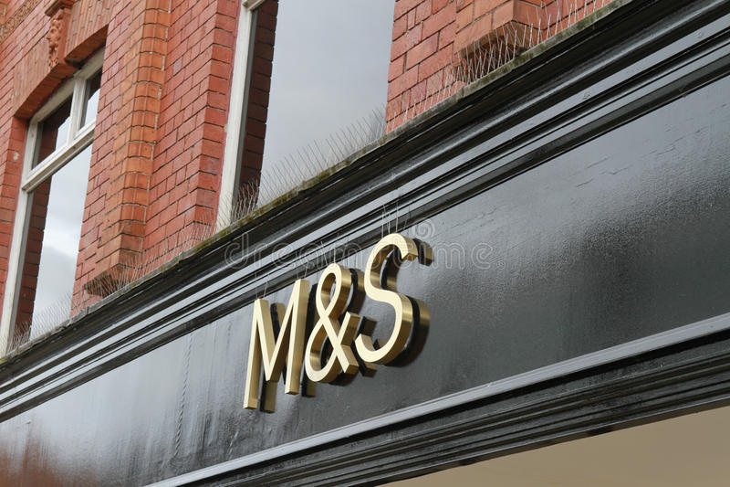 Store logo Marks & Spencer stock images
