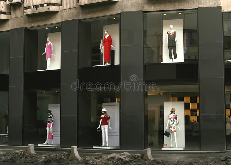 Store window stock images