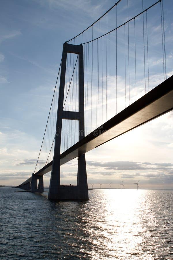 Free Storebaelt Suspension Bridge Stock Photography - 16709202