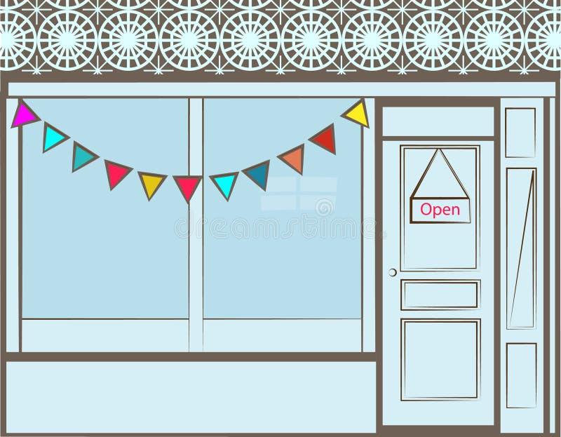 Storefront ελεύθερη απεικόνιση δικαιώματος
