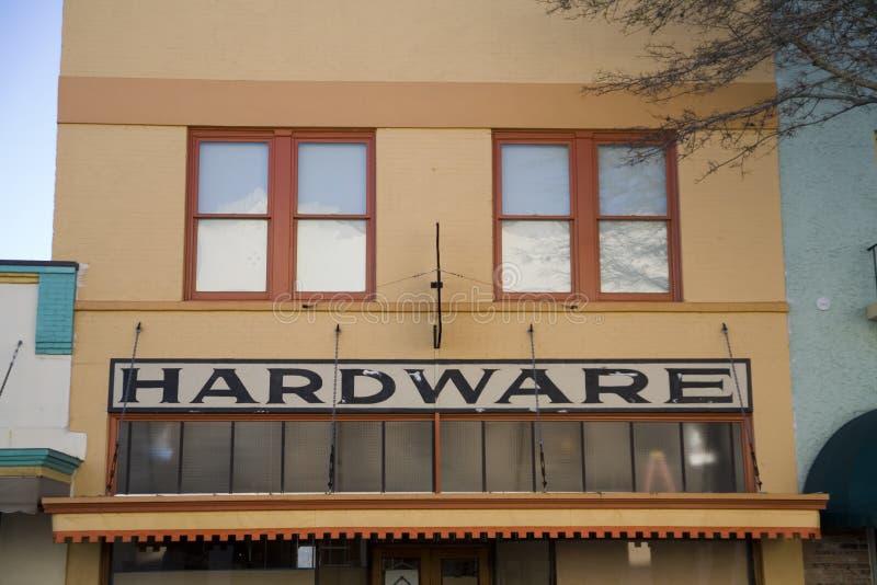 Storefront stock afbeelding