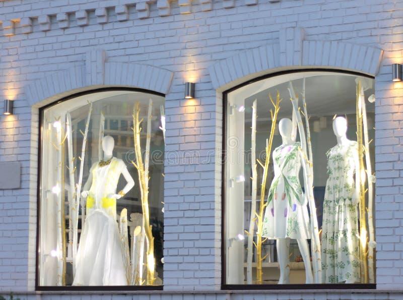 storefront mannequins zdjęcie royalty free