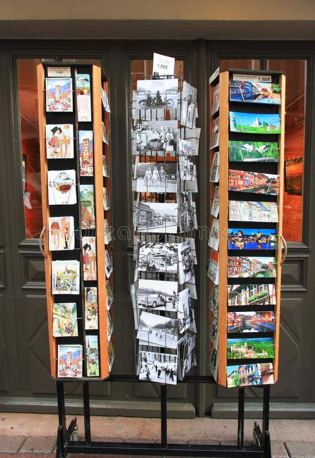 Storefront in Riboville stock foto