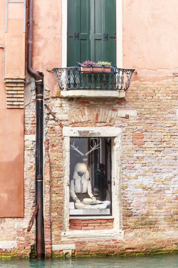 storefront Wenecja Włochy zdjęcie stock