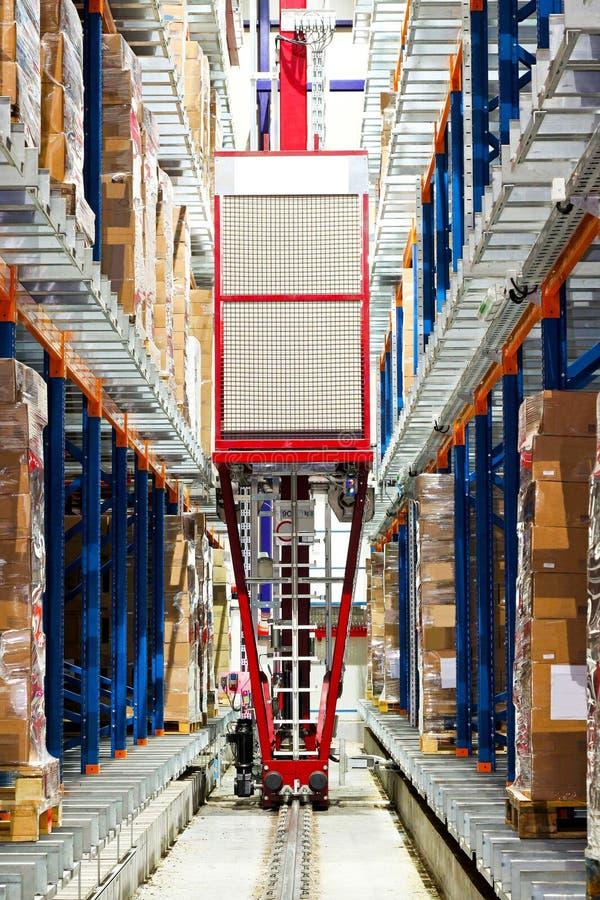 storehouse робота стоковые фото