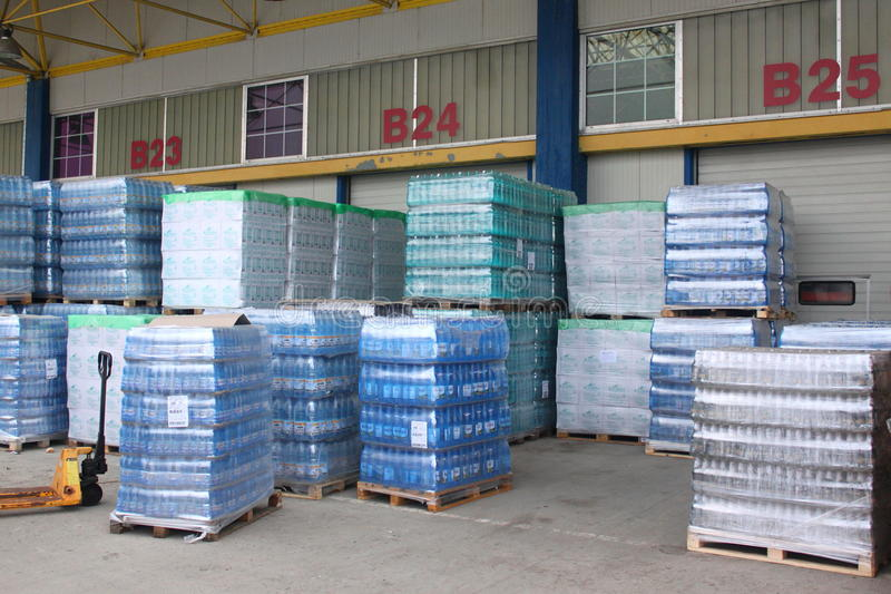 Storehouse of mineral water