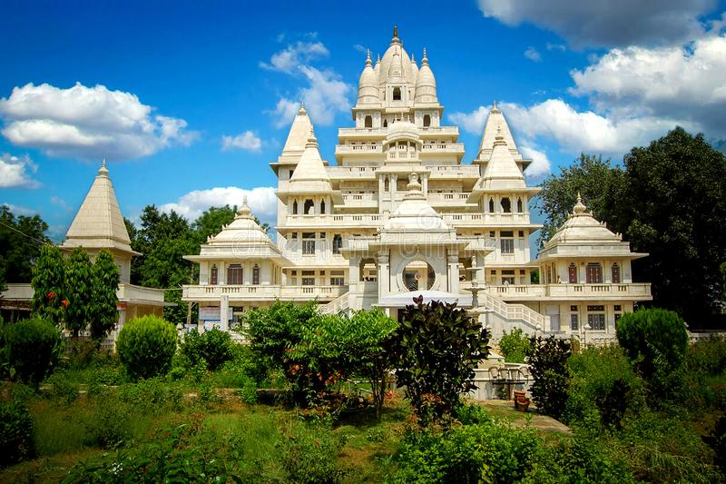 A 7-Storey High Temple, located in Mathura,India. A 7-Storey High Temple, located in Mathura, India royalty free stock photography
