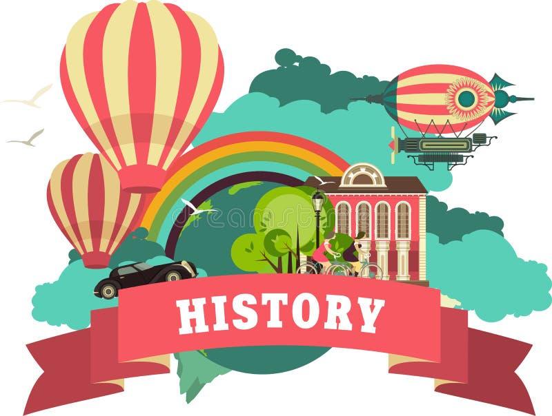 storia illustrazione di stock