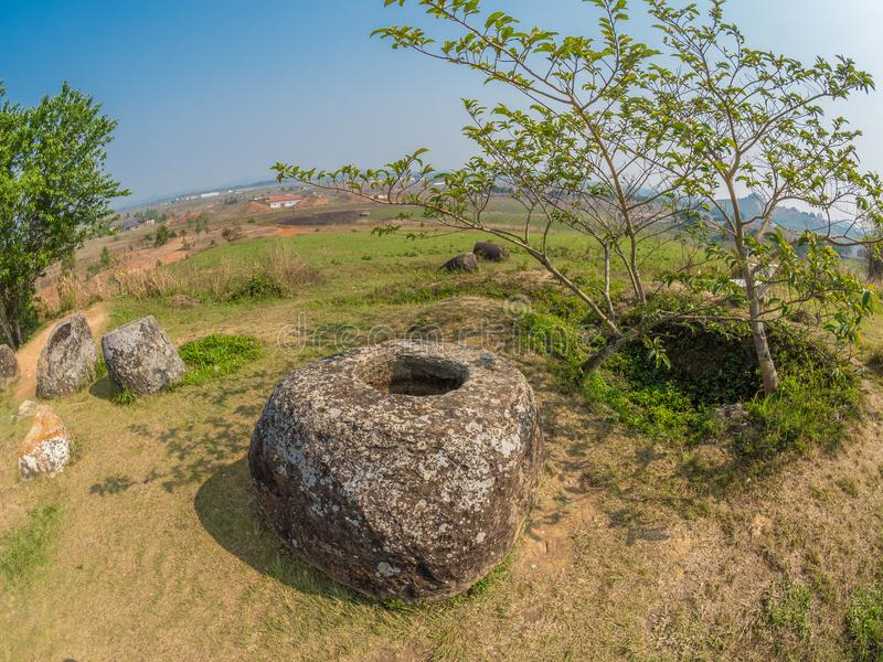 Storia antica e recente, parallelamente Plain dei vasi Xiangk immagine stock