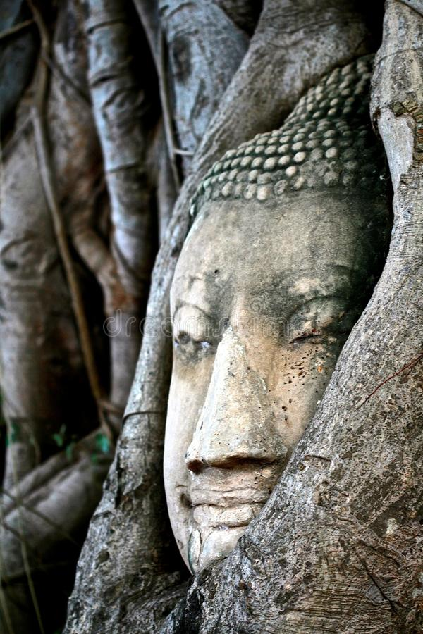 Storia Buddha di viaggio antico in Tailandia immagini stock