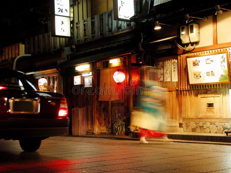 Storia di Gion fotografie stock libere da diritti