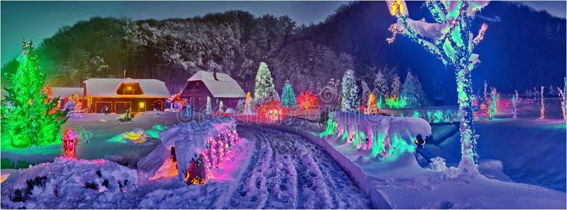 Storia di Natale in Croazia immagini stock libere da diritti