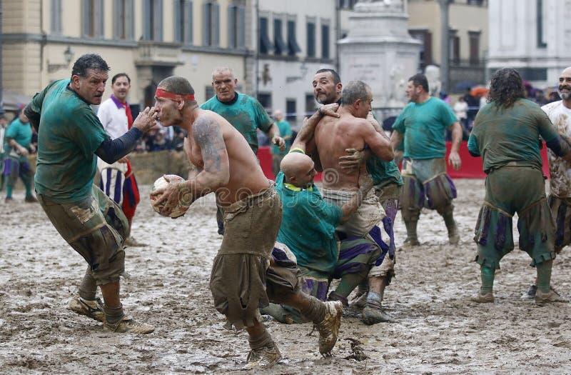 Storico de Calcio, Florence, Italie photographie stock libre de droits