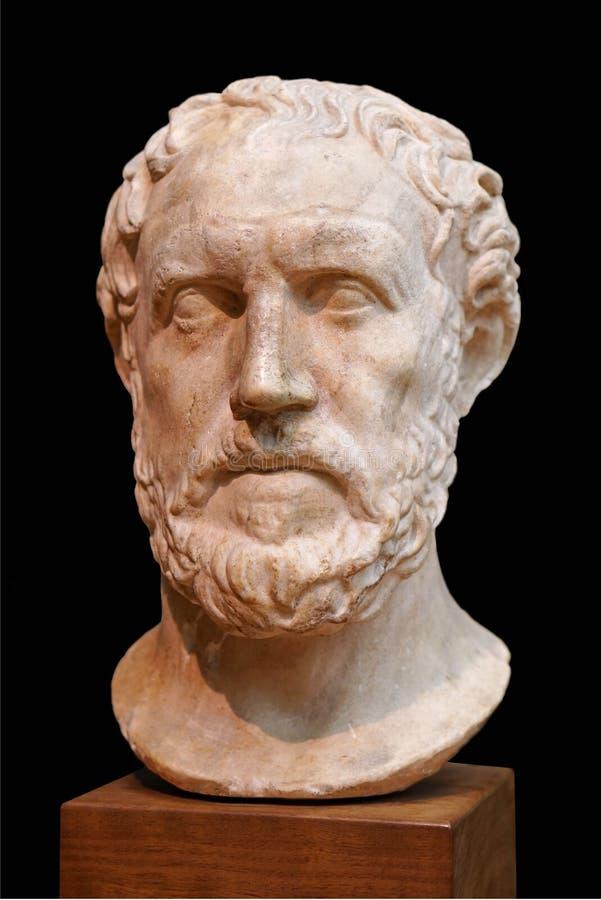 Storico del greco antico fotografia stock