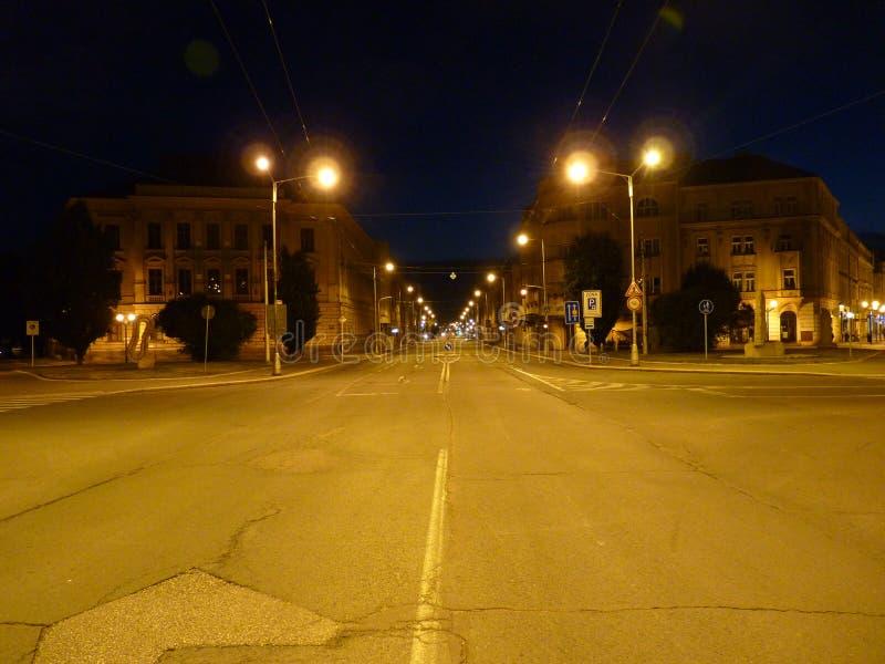 ¡ Storico r del  à di GoÄ di vista della foto di notte fotografia stock