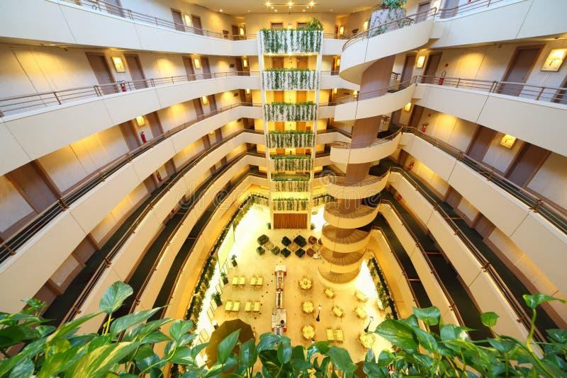 Storie nell'hotel del congresso dell'iride immagini stock libere da diritti