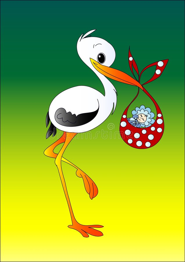 Download Stork Stock Image - Image: 2458861